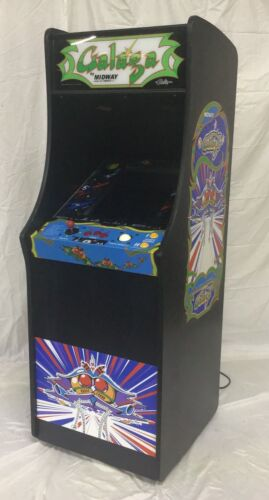Top Holiday Gifts New Ms PacMan Galaga Arcade Game Multicade 60 games Full Size with Trackball