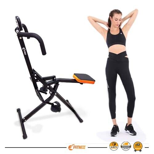 NEW TOTAL PUMP BODY CRUNCH FITNESS TRAINER PALESTRA RICHIUDIBILE PIEGHEVOLE