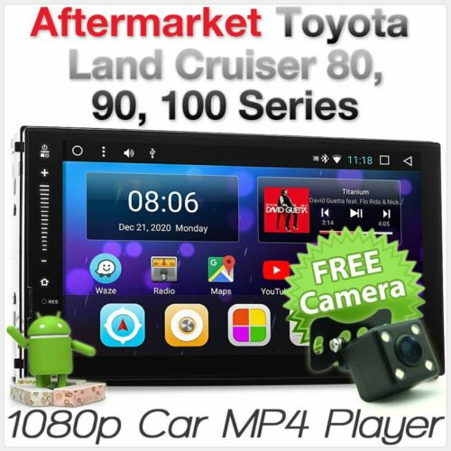 Android Car Radio MP3 Player For Toyota Land Cruiser Prado GPS Stereo Head Unit