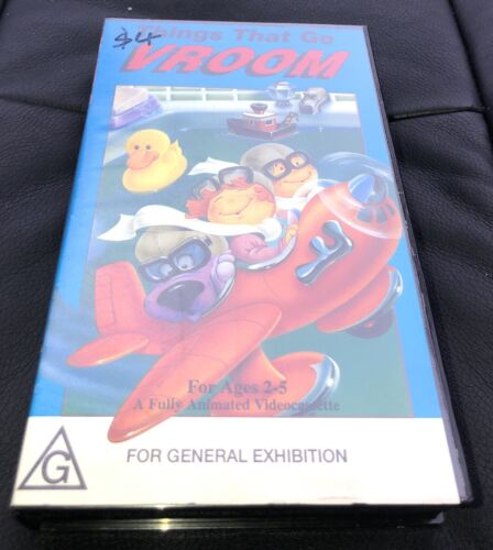 VHS: VIDEO TAPE: THINGS THAT GO VROOM: REAR FIND: