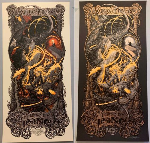 Aaron Horkey LORD OF THE RINGS: FELLOWSHIP OF THE RING Set Poster Print
