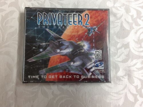 Privateer 2-The Darkening-Pilots Manual included-PC Game