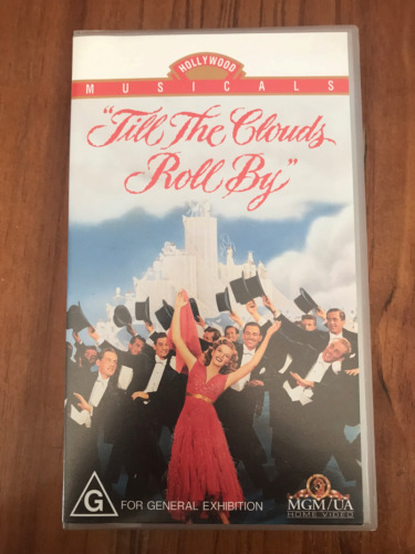 TILL THE CLOUDS ROLL BY JUDY GARLAND FRANK SINATRA  MGM AS NEW PAL VHS VIDEO