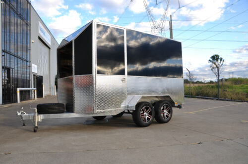 4m ALUMINUM QUAD BIKE ENCLOSED TRAILER- FINANCE AVAILABLE