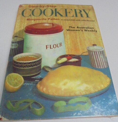 Step by Step Cookery For Australian Womens Weekly Vintage Cook Book M Pattern