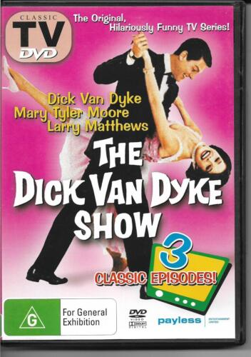 The Dick Van Dyke Show - Classic TV 3 Episodes (DVD) NEW