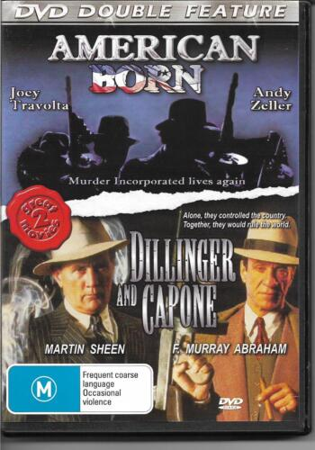 American Born, Dillinger & Gapone - Double Feature (DVD) All Region NEW