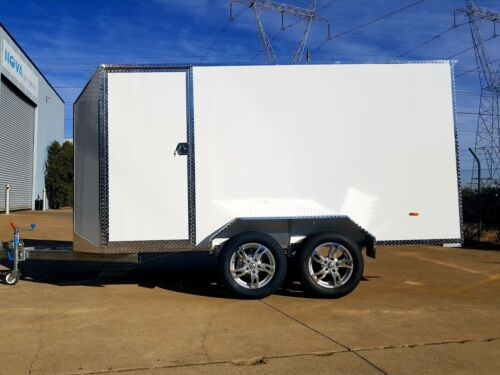 3.6m ALUMINUM ENCLOSED TRAILER- FINANCE AVAILABLE $71 p/week for 4 yrs