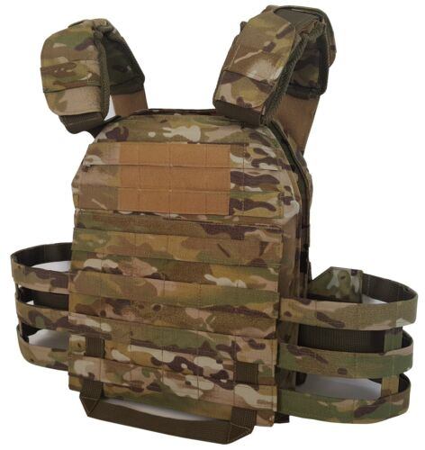 Tactical Plate carrier MultiCam new, size M, Lightweight Vest Body Armor  Other Current Field Gear - 36071