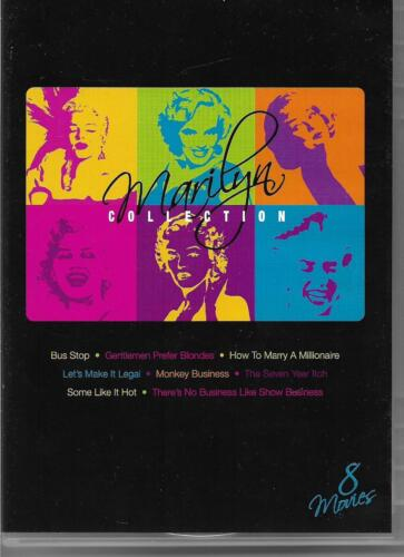 Marilyn Monroe: Bus Stop, How To Marry A Millionaire, Monkey.. (8-Disc Set, DVD)