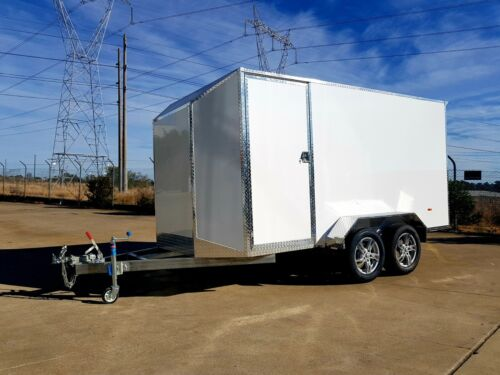 ALUMINUM ENCLOSED VAN TRAILER 3.6m FINANCE AVAILABLE - $70 p/week for 4 years
