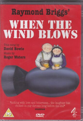 When The Wind Blows - DVD (Brand New Sealed) Region 2 PAL