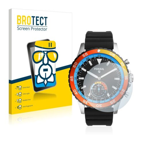 Fossil Q Crewmaster ,  BROTECT® AirGlass® Premium Glass Screen Protector Clear