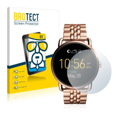 Fossil Q Wander,  BROTECT® AirGlass® Premium Glass Screen Protector Clear