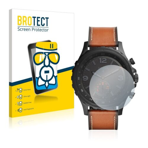 Fossil Q Nate,  BROTECT® AirGlass® Premium Glass Screen Protector Clear