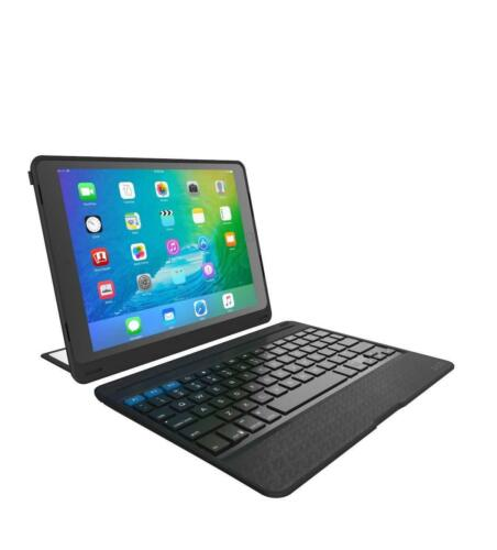 ZAGG Rugged Book Pro Magnetic-Hinged Bluetooth Keyboard Case for Apple iPad Pro