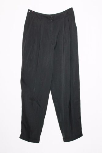 Stitches Brand Black Pleated Side Pocket Pant Size 14-L BNWT #SY102