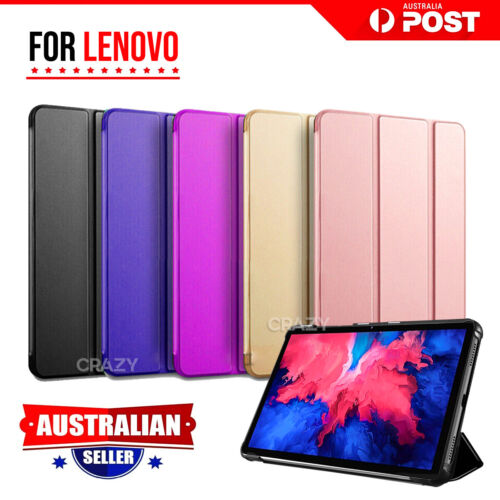For Lenovo Tab M10 FHD Plus 2nd Gen Case Folio Smart Magnetic Flip Leather Cover