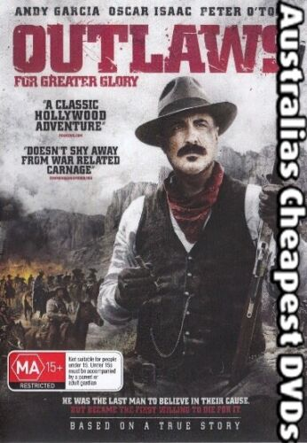 Outlaws For Greater Glory DVD NEW, FREE POSTAGE WITHIN AUSTRALIA REGION ALL