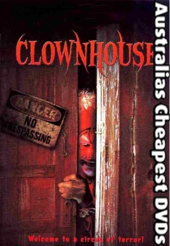 Clownhouse DVD NEW, FREE POSTAGE WITHIN AUSTRALIA REGION ALL