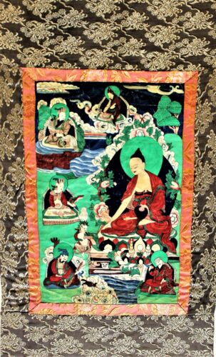 Chinese Tibetan Painting Thangka