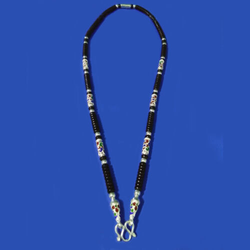"""26"""" Thai Amulet Necklace Silver 925+One Eye Coconut Shell Handmade Pendants NO.1"""
