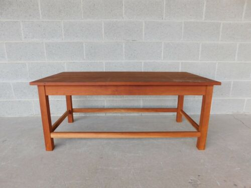 Samuel S Case Mission Oak Arts & Crafts Style Cherry Coffee / Cocktail Table