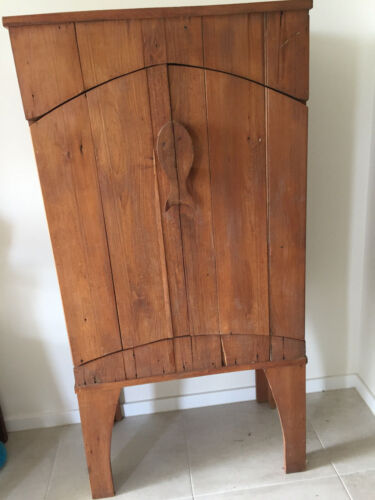 Hoop Pine Hand Crafted Fish Stand / Cupboard Wooden