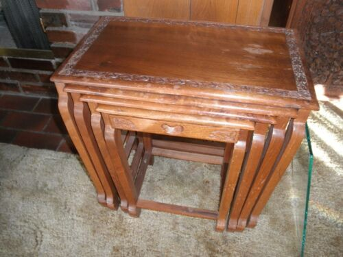 INDIA STACKING TABLES, NESTING TABLES