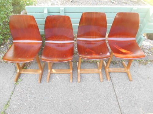 LAST LISTING!! ONE Danish Modern Andrew Stegner Bentwood Dining Chair -4 AVAIL