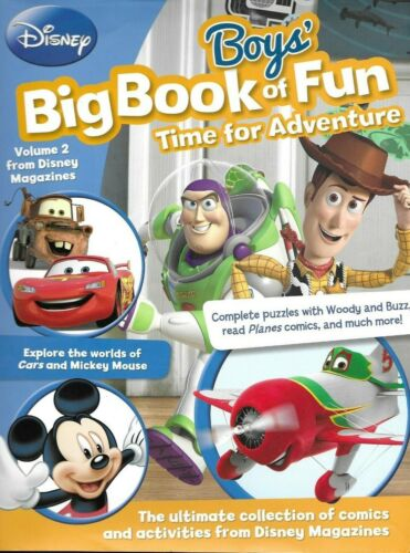 Disney Boys' Big Book of Fun - Volume 2, Hardcover, 2015
