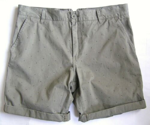 COTTON ON MEN'S SHORTS SIZE 34 KHAKI NEW WITH TAGS