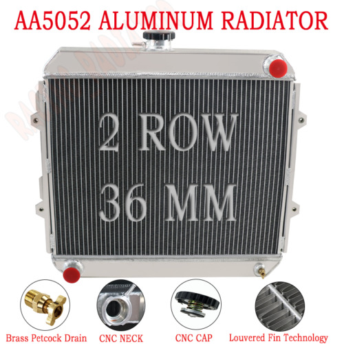 Back To Search Resultsautomobiles & Motorcycles High Quality 3 Row 52mm Aluminum Radiator For Nissan Gq Patrol Y60 4.2l Petrol Mt Cooling System