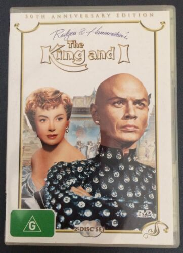 THE KING AND I The 50th Anniversary Edition - Deborah Kerr, Yul Brynner DVD