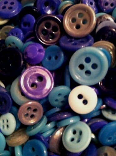 "⭐️  LOT OF 150+ CHINA BUTTONS ANTIQUE~VINTAGE   ""ASSORTED BLUES""  ⭐️"