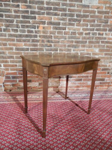 BEACON HILL Regency Style Mahogany 1 Drawer Accent Table
