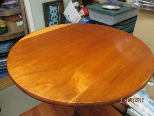 Ellsworth of Willoughby Ohio solid Cherry Table LOCAL PICK-UP
