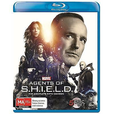 AGENTS OF S.H.I.E.L.D. SEASON 5 BLU-RAY, NEW & SEALED, 2019 RELEASE, FREE POST.