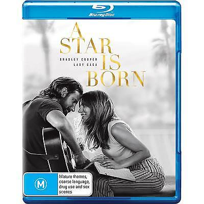 A STAR IS BORN LADY GAGA BLU-RAY NEW & SEALED, 2019 RELEASE, FREE POST