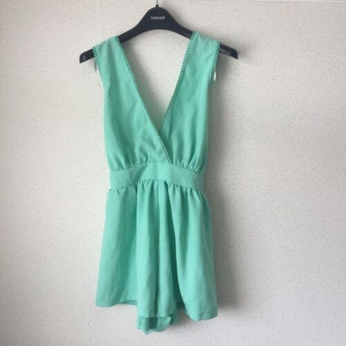 Sabo Skirt cross over back deep v playsuit size 10 new with tags