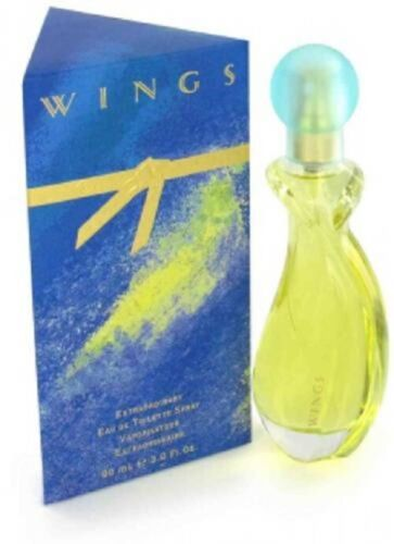 WINGS 90ML EDT SPRAY FOR WOMEN BY GIORGIO BEVERLY HILLS-SALE CODE USE PATPAT