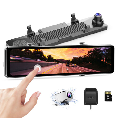 AZDOME 4.3'' Dual Lens Car Dash Cam Recorder Touching Front and Rear Car Camera <br/> Exclusive product for eBay buyers!