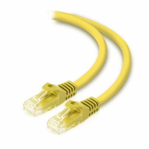 Alogic C6-04-Yellow 4m Yellow CAT6 Network Cable 8P8C RJ45 PVC RoHS Snagless WP.