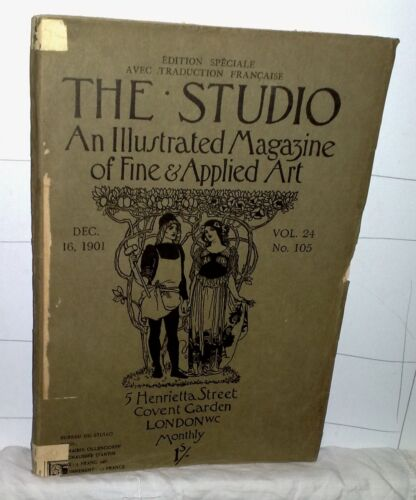 THE STUDIO An Illustrated Magazine of Fine & Applied Art 1901