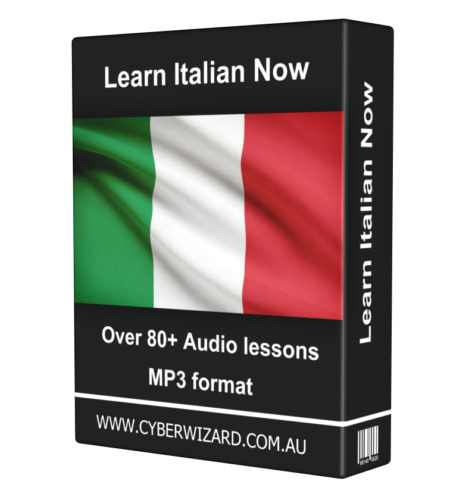 Learn ITALIAN Now LANGUAGE COURSE AUDIO TUTORIAL GUIDE Instant Download