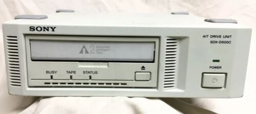 Sony SDX-D500C  External Tape Drive