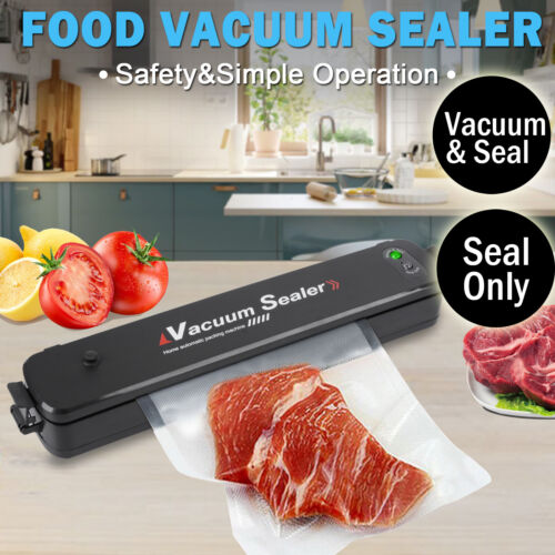 Food Vacuum Sealer Saver Storage Kitchen Machine Packaging Preservation <br/> The updated Vacuum Sealer, 90W, 2 Optional Function