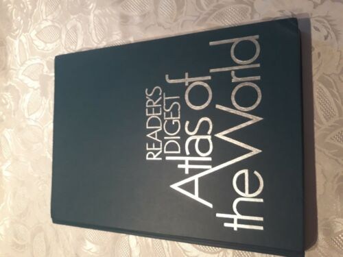 Readers digest Atlas Of The World 1982 First Revised Edition 4th Printing
