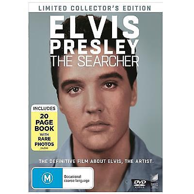 ELVIS PRESLEY - THE SEARCHER DVD, NEW & SEALED, 2018 RELEASE, FREE POST