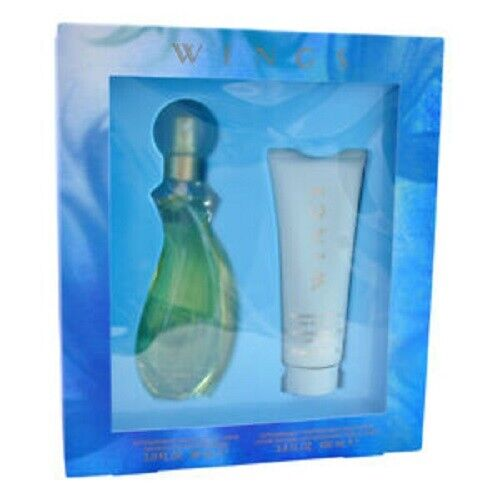 WINGS 90ML EDT GIFT SET WOMEN BY GIORGIO BEVERLY HILLS-SALE CODE USE PATPAT